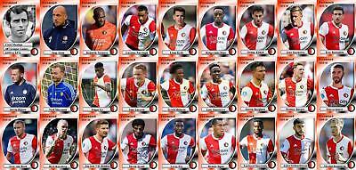 Feyenoord escuadrón de fútbol Trading Cards 2019-20