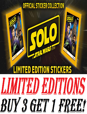 Topps-A STAR WARS STORY-Solo-Sticker 67