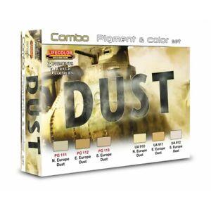 Lifecolor-SPG04-Dust-Staub-Combo-Pigment-amp-Color-Set-6x22-ml-100ml-15-91