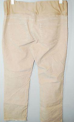 NEW Gap Maternity 1969 demi panel skinny boot cords corduroys pants 2 16L 18L