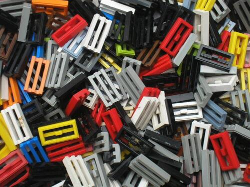 Lot de 50 grilles LEGO Tile 1 x 2 Grille with Groove ref 2412b 10187 10140 ...