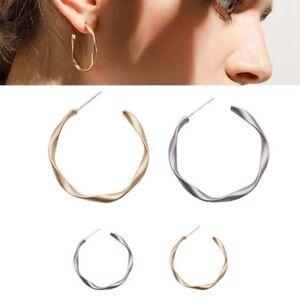 925-Silver-Needle-Dangle-Drop-Ear-Studs-Geometric-Earrings-Women-Jewelry-GiftsFB