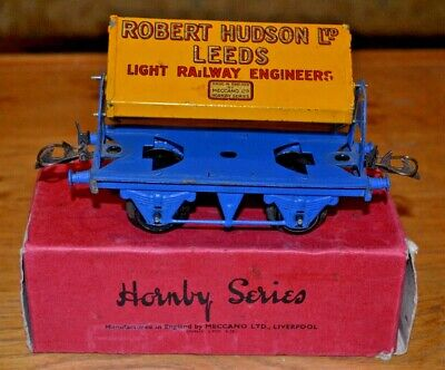 Bellissimo Vintage Boxed Hornby Trains O Gauge No 1. Side Tipping Wagon