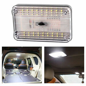 12V-36-LED-Car-Vehicle-Interior-Dome-Roof-Ceiling-Reading-Lamp-Light-Trunk-T3O0