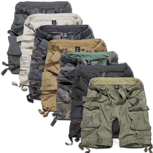 Cintura Al Ginocchio Brandit Savage Pantaloncini Militare dell/'Esercito Vintage Cargo Combat