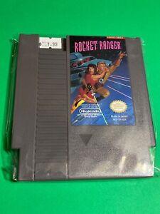 WORKING-NINTENDO-NES-SUPER-RARE-GAME-Cartridge-KEMCO-Rocket-Ranger