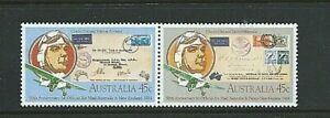 AUSTRALIA 1984 - Se-Ten Pair 50th Anniversary AIR MAIL - SG 903 & 904 - Mint MNH