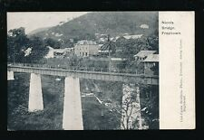 West Africa Sierra Leone FREETOWN Nicols Bridge pre1919 PPC local pub Lisk-Carew