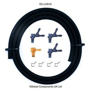 Ford Fiesta V Duratorq Siemens combustible Diesel Inyector Fugas De Conector