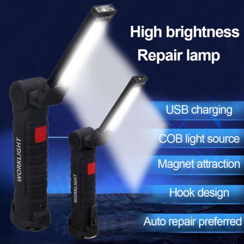 2000Lumens COB LED Work Light Flashlight Car Inspection Outdoor Emergency Torch