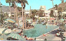 50s Postcard Camelback Inn Sunshine Alley Phoenix Scottsdale AZ Pool Sunbathers