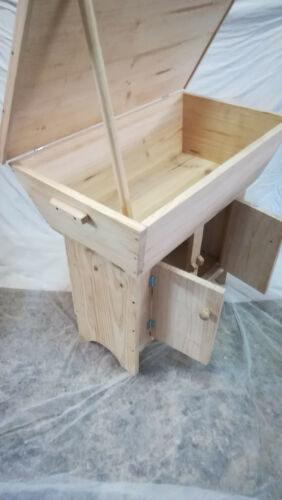 xxl 85 cm Duck wooden furniture new long with pantry