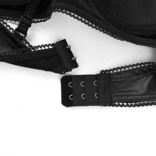 Le Donne Look bagnato in Pelle in Pizzo Reggiseno Bralette svuotare senza fili bustier lingerie