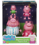 PEPPA PIG BEDTIME FAMILY FIGURE PACK CHILDRENS TOY PLAY SET NEW