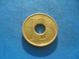 (23c7) B. Lavage Voiture Couleur Or Jeton Coin-afficher Le Titre D'origine Pour Classer En Premier Parmi Les Produits Similaires