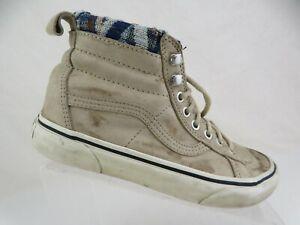 tienda mil arquitecto  Vans Sk8-Hi Marrón Talla 8 Zapatos Mujer Alto Top Skateboarding | eBay