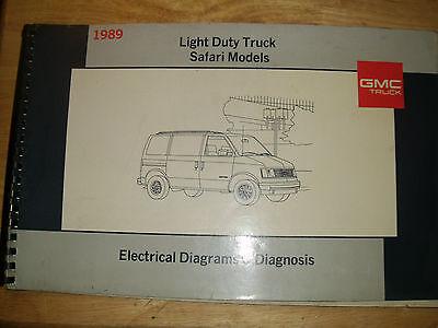 1989 GMC SAFARI VAN ELECTRICAL DIAGNOSIS / WIRING DIAGRAM ...