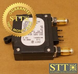 LELK1-1REC4-29813-50V-AIRPAX-50-AMP-BULLET-CIRCUIT-BREAKER-80V-116673