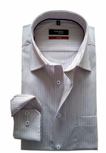 Seidensticker SplendestoModern Herren Hemd weiß rot gestreift 01.111860.43