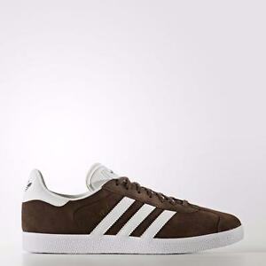 Adidas Originals Gazelle Bb5254 Brown/white/gold Metallic - Suede (10,5)