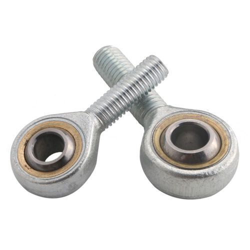 Self-lubricating Metric Right Hand Male Thread Fisheye Rod End Joint Bearing