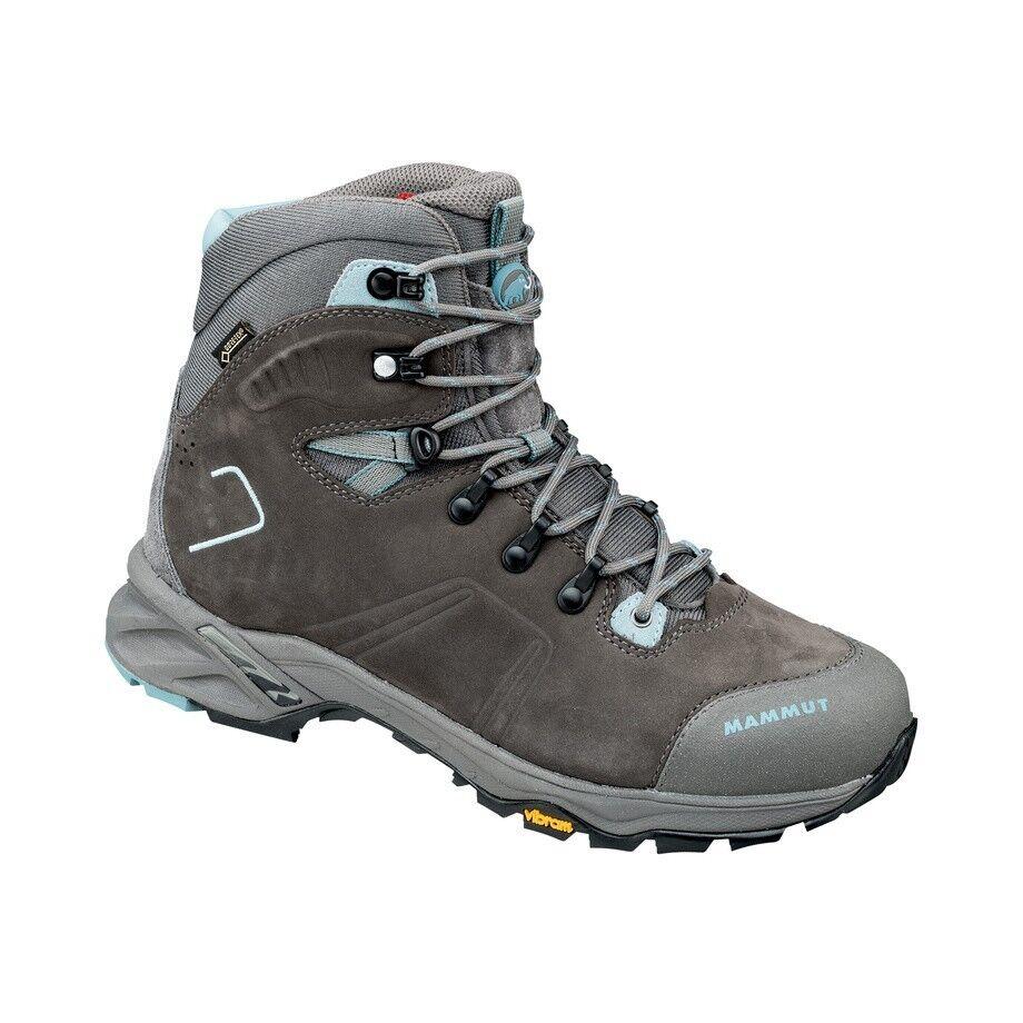 Mammut Nova Tour High GTX Trekking shoes, bark-air, Walking Boots for Ladies