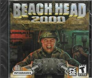 Beach-Head-2000-PC-Video-Game-CDROM-New-Sealed-Win-95-98