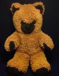 SHILLCRAFT-SHILLIKINS-14-034-Brown-Bear-Stuffed-Animal-Plush-Vtg-Toy-Rare-USA