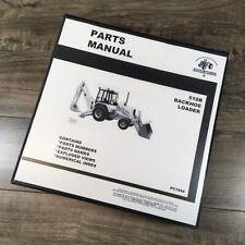Parts Manual For John Deere 510b Backhoe Loader Catalog Book Schematic Assembly