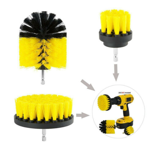 3//6//9PCS Grout Power Scrubber Cleaning Brush Tub Cleaner Combo Tool Kit