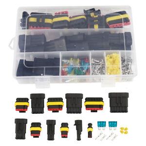 1 2 3 4 5 6 connecteur fil lectrique tanche voiture joint mani re ebay. Black Bedroom Furniture Sets. Home Design Ideas