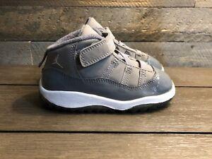 """2010 Air Jordan 11 Retro """"Cool Grey"""" sz"""