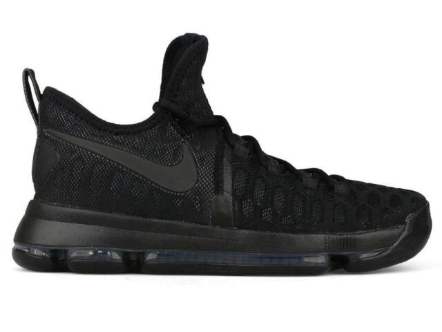 pretty nice d73c4 be937 Mens NIKE ZOOM KD 9 Basketball Black Trainers 843392 001