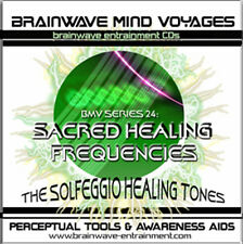 SACRED HEALER FREQUENCIES CD-SOLFEGGIO HEALING TONES-MIND BRAINWAVE MEDITATION