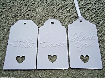 10 Kraft Gift Swing Tags Wedding Favour BUTTERFLY Christening Birthday Baby