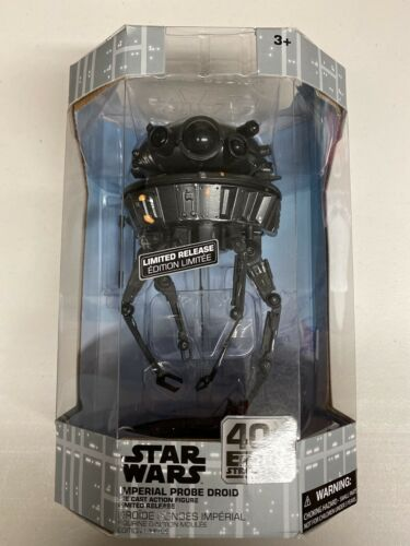 Star Wars Black Imperial Probe Droid Figure Limited Release 40th BRAND NEW