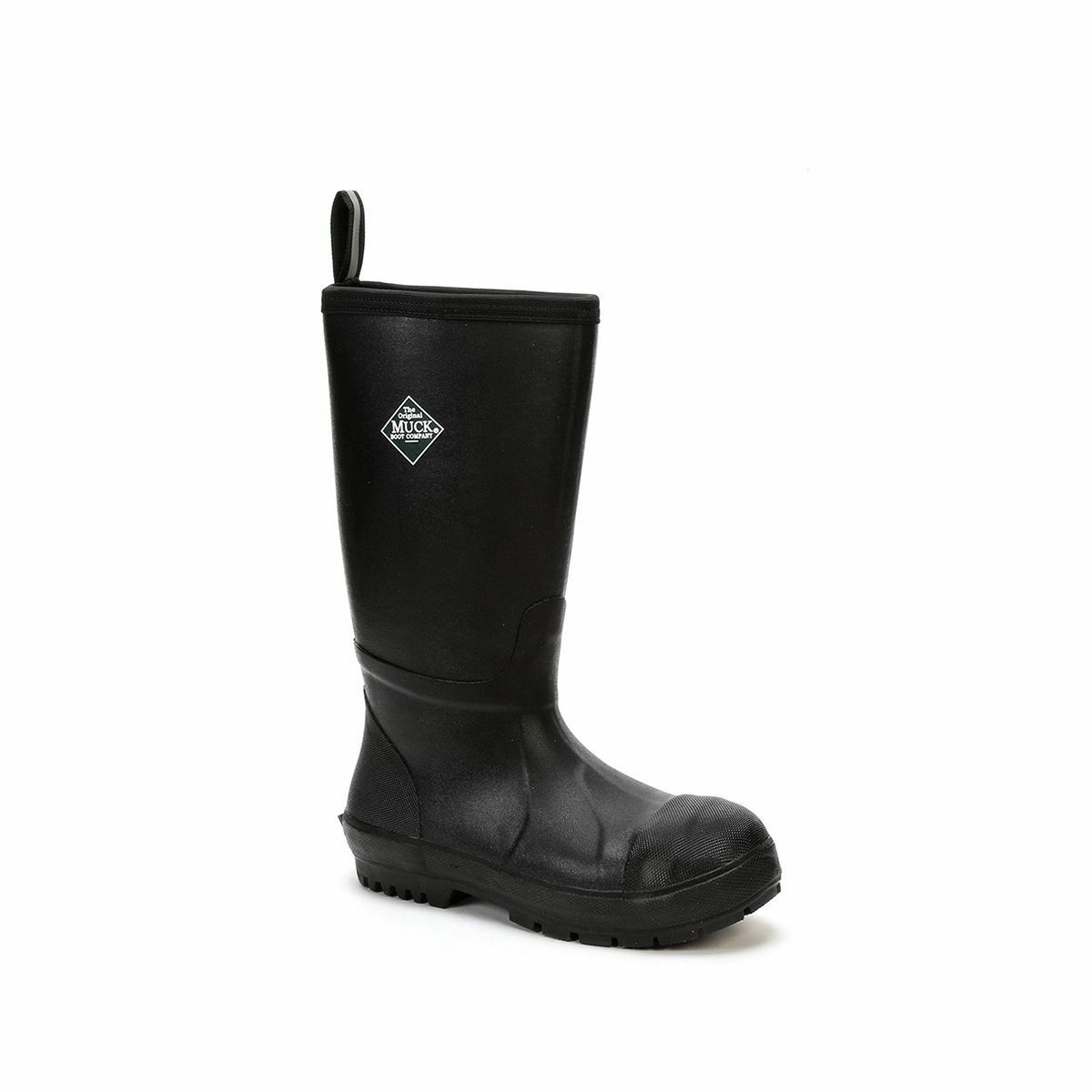 Muck Boots Company Adult's Men's/Women's CHORE RESISTANT TALL STEEL TOE, BLACK