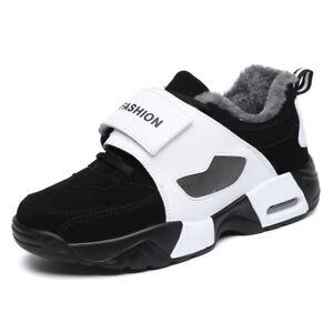 Herren-Damen-Schuhe-Turnschuhe-Freizeit-Laufschuhe-Outdoor-Winter-Warm-Sneaker