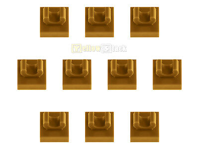 10x LEGO® 15712 1x1 Platte mit Clip oben neu-hellgrau NEU