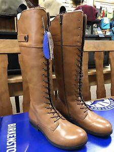 Boots Details Woman's Us 37 Birkenstock New Longford About Camel 6 Eu 1TFKlJc3