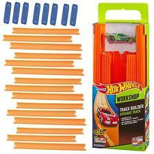Hot Wheels Track Builder W/ Car Kids Xmas Gift Boys Toy 15 Feet Straight Tracks