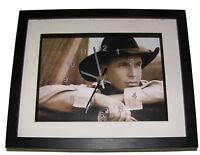 Garth Brooks. High Quality Framed Print And Clock. Music Memorabilia.
