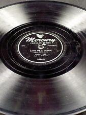 Mercury 3046 Jack Fina I'LL CLOSE MY EYES / SAVE ME A DREAM 78 E-