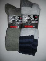 Wolverene Wool Blend Hunting Socks, Size 9-13,2 Pair, Usa,