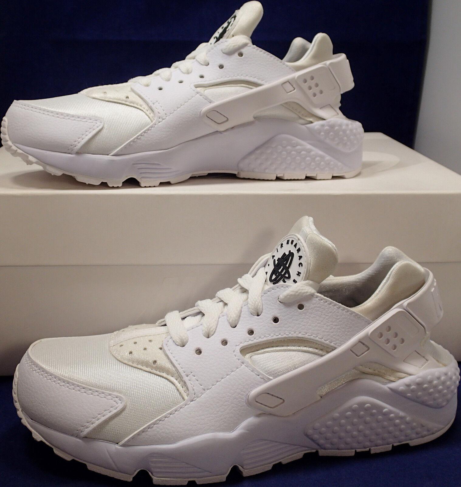 Womens Nike Air Huarache Run iD White White White Off White SZ 6 ( 777331-999 ) 2eb9ef