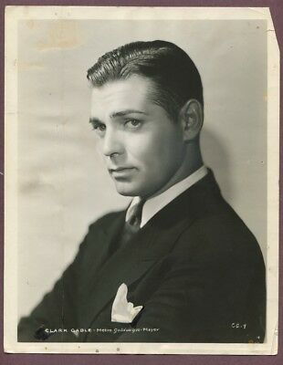 CLARK GABLE Very Young Early Career 1931 The Easiest Way MGM Portrait Photo J913
