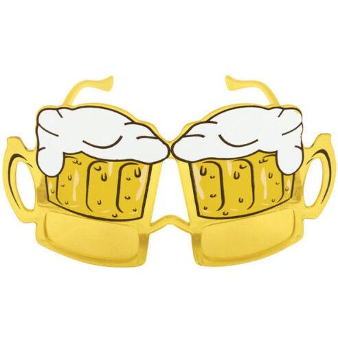 Beer Glasses Goggles Costume Wedding Photo Booth Prop Novelty Joke Fancy Dress