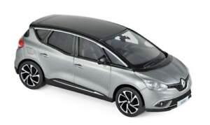 Renault-Scenic-4-2016-Grau-Cassiopeia-Neu-Auto-aus-Sammlung-Norev-1-43-Scenic-IV