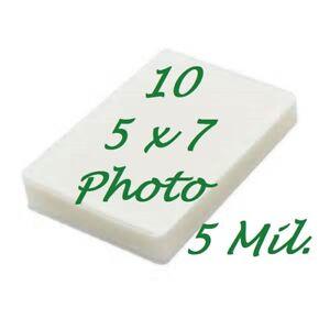 4 x 6 Laminating Pouches Laminator Sleeves 4.25 x 6.25 7 Mil 10pk Scotch Quality