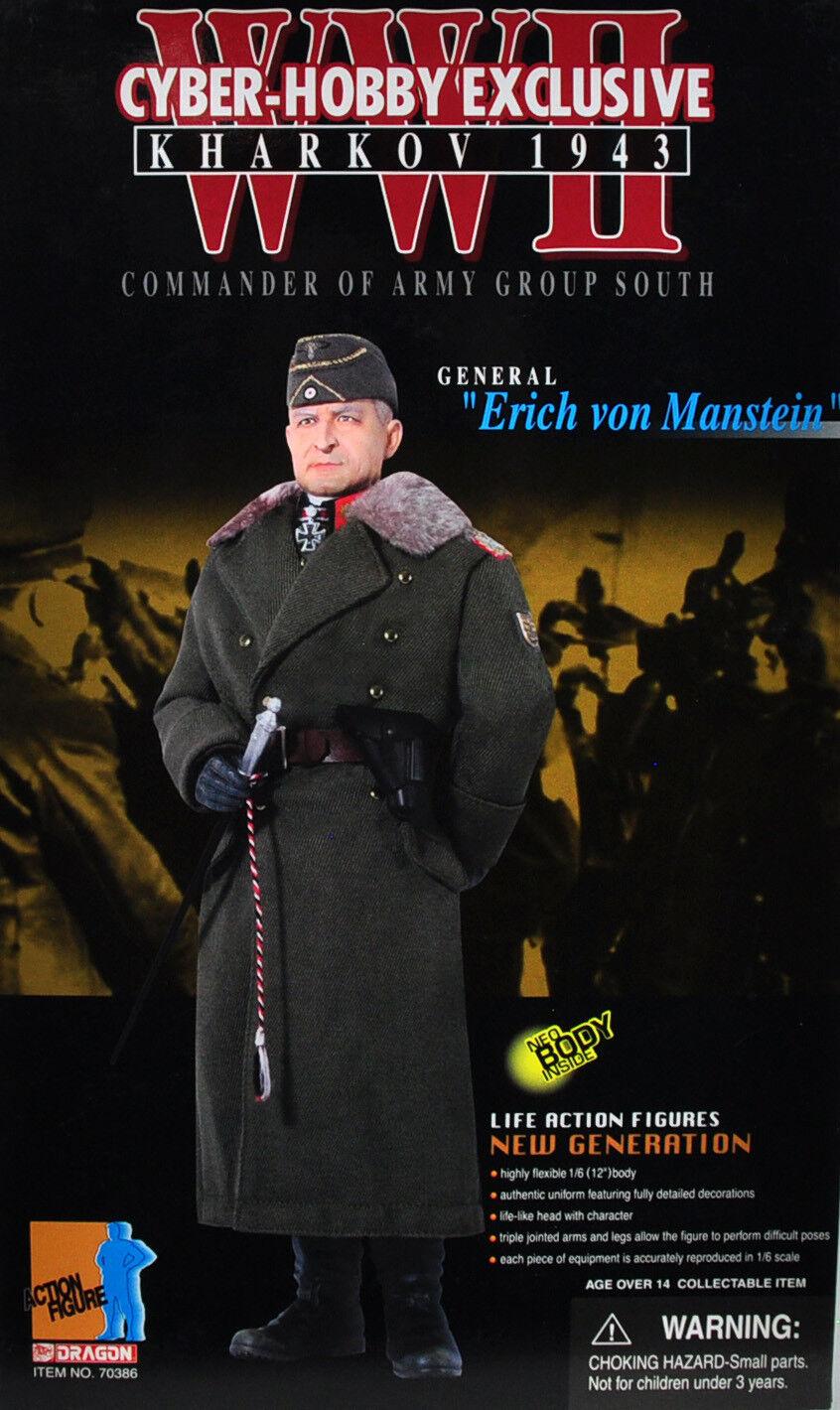 General erich von manstein drachen 12  action - figur cyber - hobby exklusive waren.